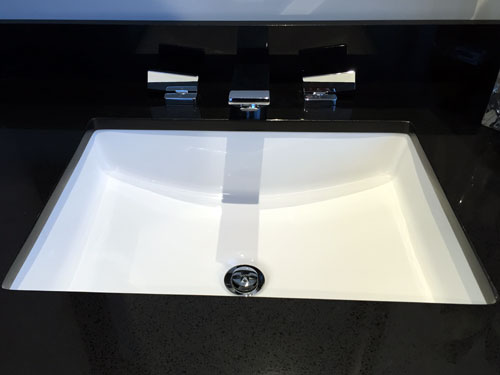 sink square