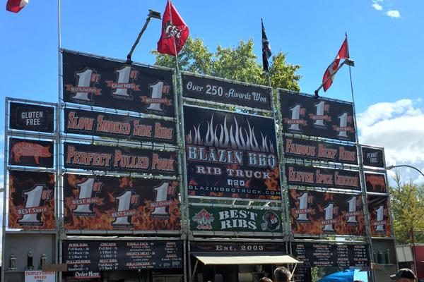BBQ rib signs