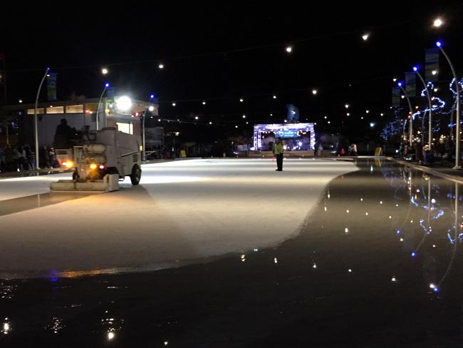 ice skate rink